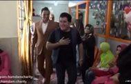 ویدیویی از جشن تولد مهدی یغمایی در خیریه توانبخشی همدم
