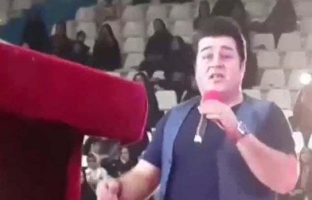 فیلم اجرای زنده آهنگ ایران توسط مهدی یغمایی