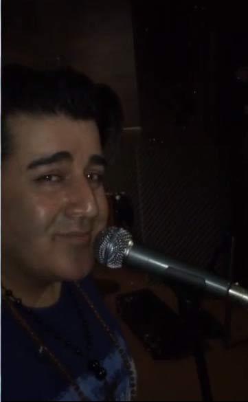 تمرین مهدی یغمایی با گروه ارکستر
