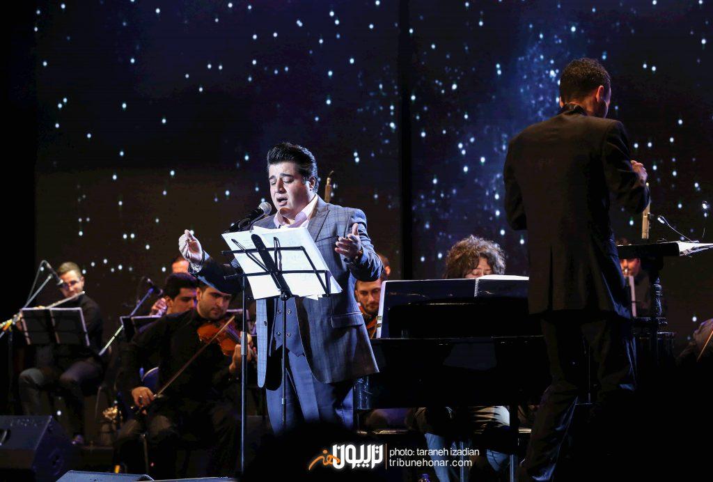 اجرای زنده آهنگ دو پرنده در کنسرت